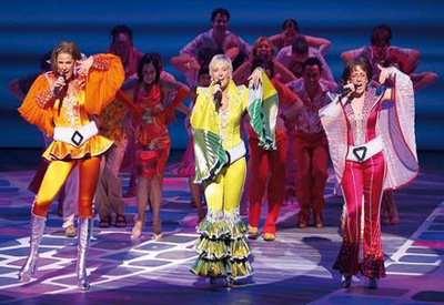 Image result for mamma mia show